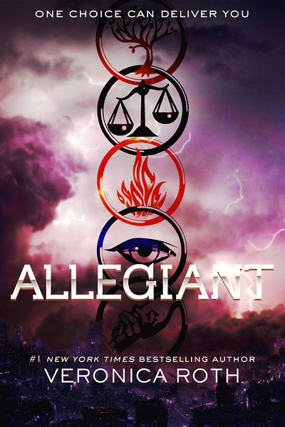 Allegiant cover design by @ofallthevoicesinmyhead on Tumblr