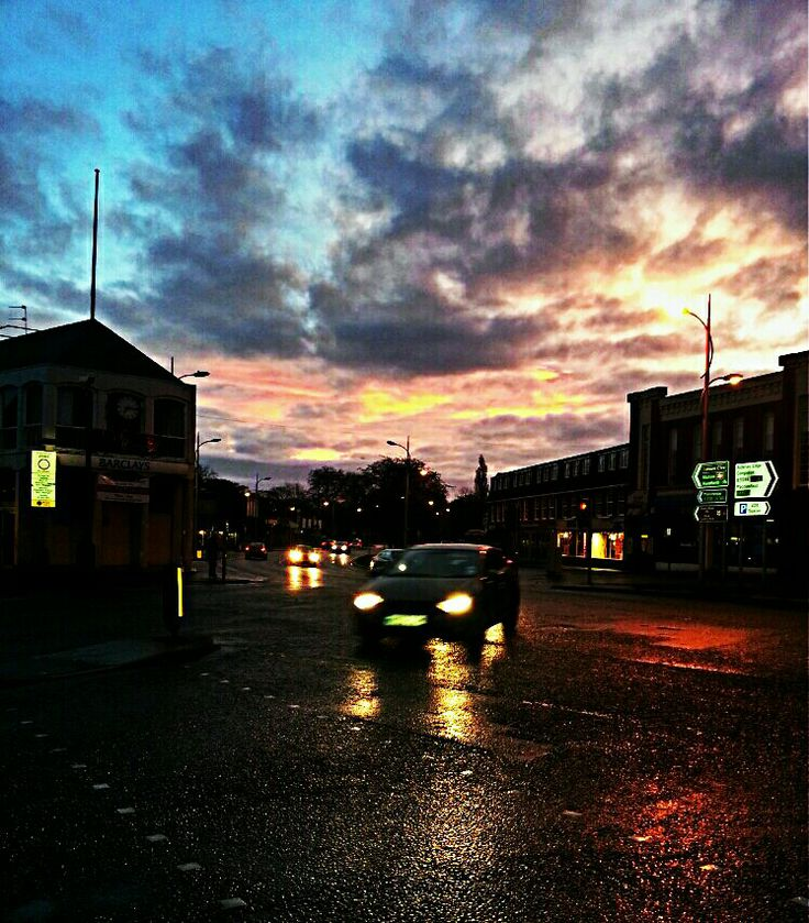Wilmslow at dawn