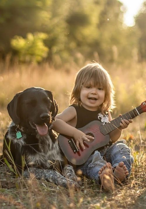 So Cute! #dogs #kids #photography