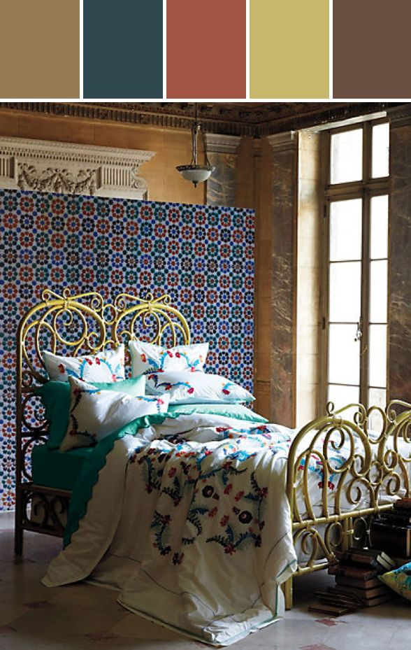 78 best anthropologie color inspiration stylyze images for Anthropologie bedroom ideas