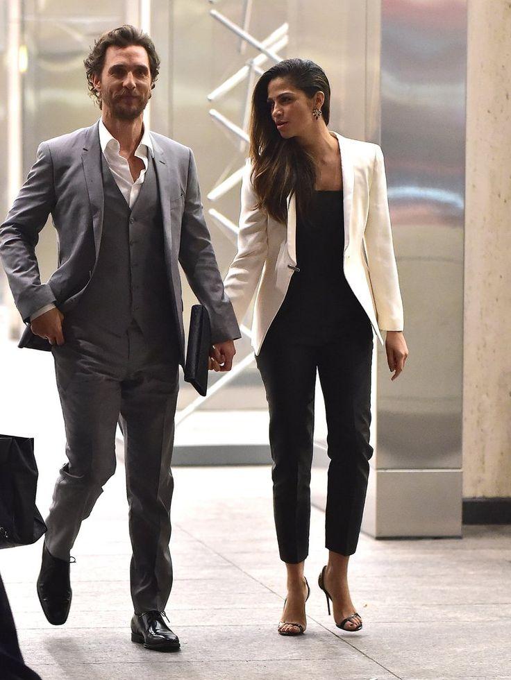 Matthew McConaughey and Camila Alves Red Carpet Style | POPSUGAR Fashion
