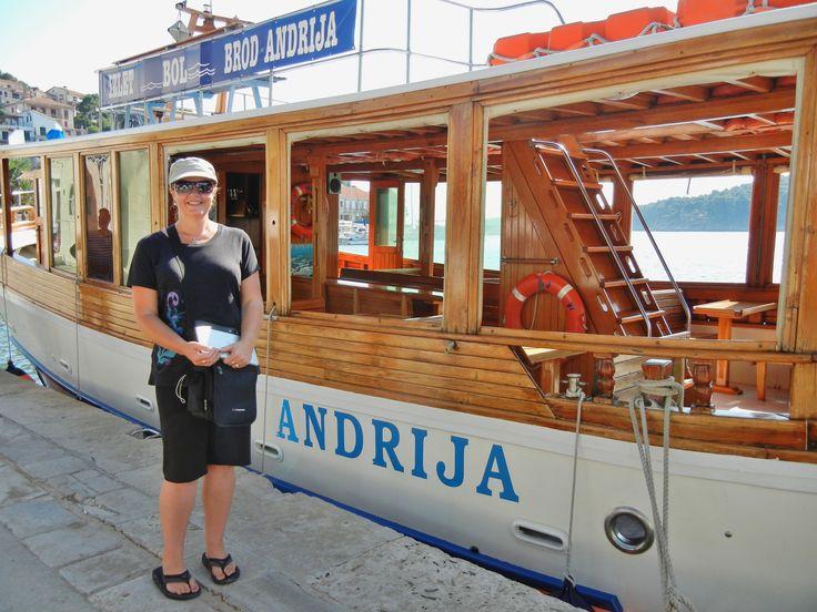 Wooden boat, Jelsa, Hvar Is.to Bol, Brac Is.