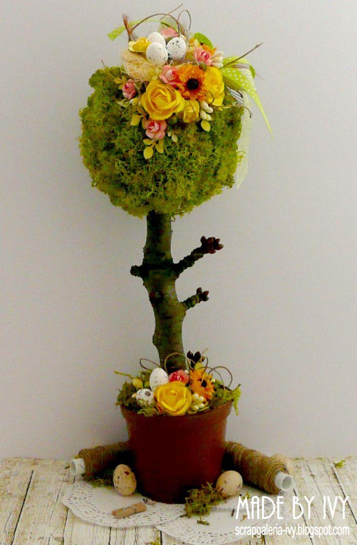 Blog firmowy Rapakivi: Inspiracje Wielkanocne #6 - Kurs na wiosenne drzewko