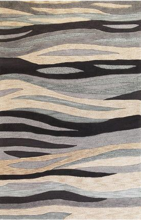 Waves. Carpet design.