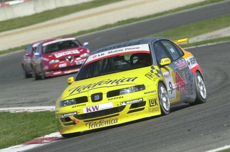 Jordi Gené. SEAT Toledo ETCC. European Touring Car Championship 2003.