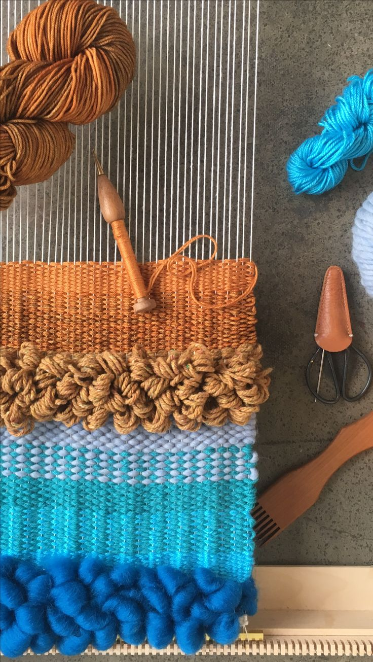 @Maryannemoodie #weaving #colorful #yarn #maryannemoodie
