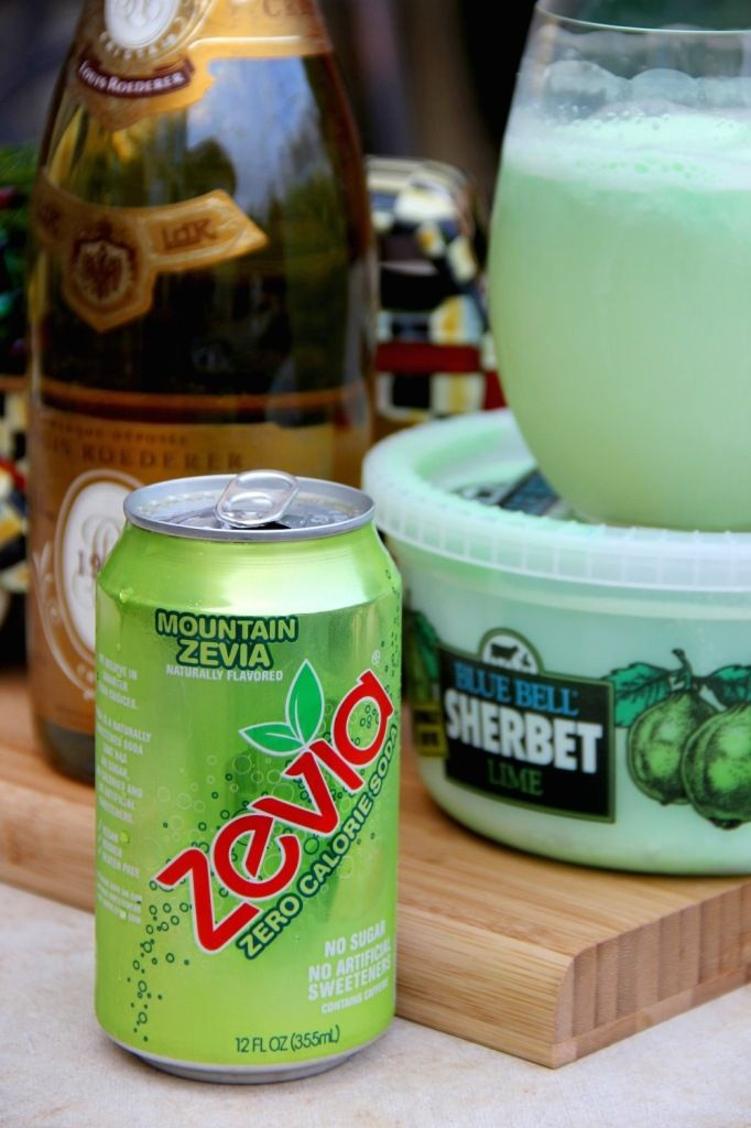 Skinny Grinch Punch using Zevia by Skinny Girl Standard