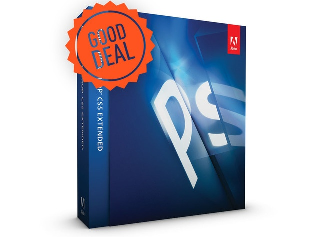 Good Deal: Adobe Photoshop CS5 Extended student and teacher edition just $39.80