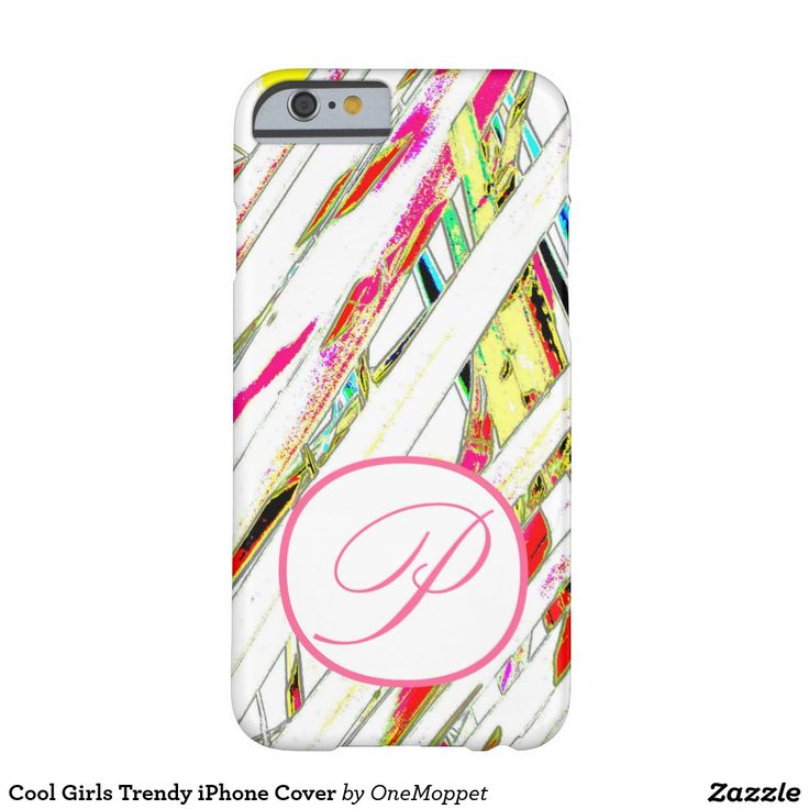 Cool Girls Trendy iPhone Cover