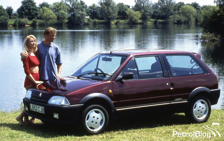 French-Cars-since-1946 • 1993 Citroen AX GTi...