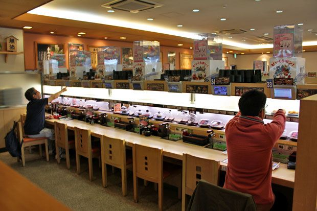 Kura Sushi @ Ikebukuro
