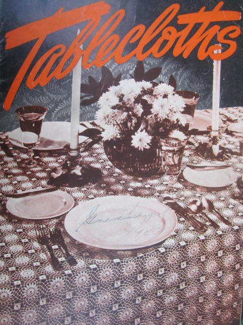 See Sally Sew-Patterns For Less - Crochet Tablecloths Table Clothes J