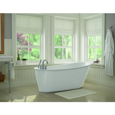 MAAX Bath - White Sax Freestanding Soaker Tub - 105797-000-002-100