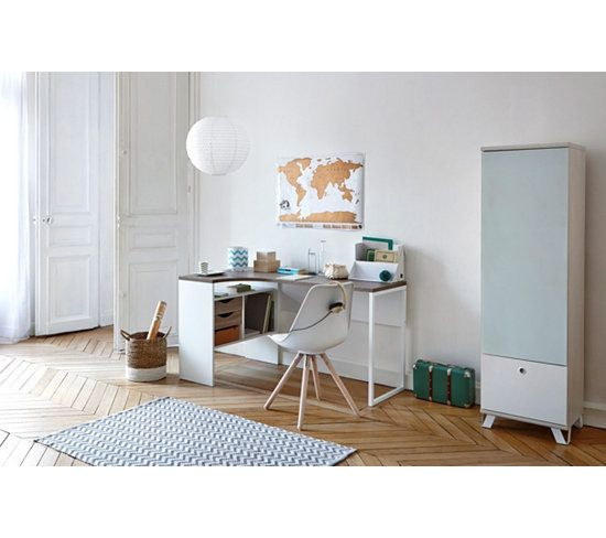 Best 25 bureau d 39 angle ideas on pinterest mur d 39 angle for Bureau d angle laque blanc