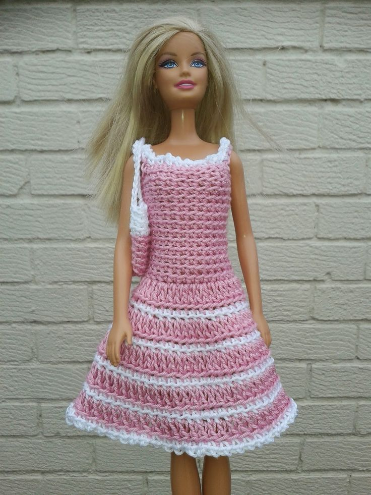 Barbie Knitting Patterns : 17 Best images about Barbie and other doll clothes on Pinterest Crochet bar...