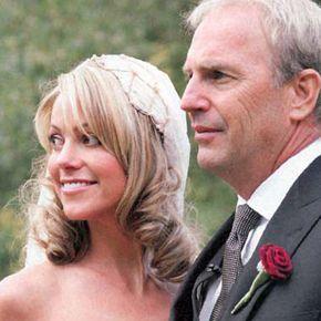 Christine Baumgartner & Kevin Costner wedding | Weddings Celebrity ... Kevin Costner