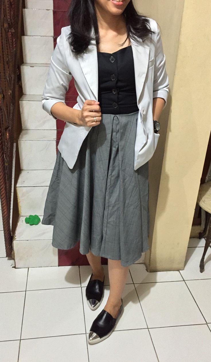 Replica dress by LV Blazer by bodyandsoul