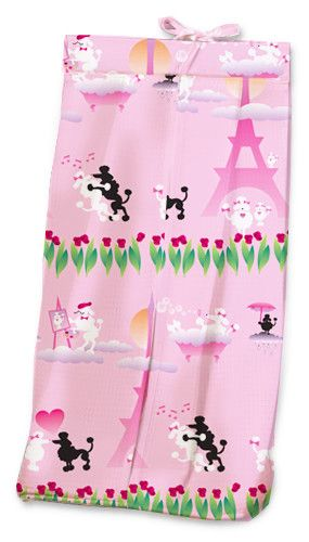Poodles in Paris Diaper Stacker