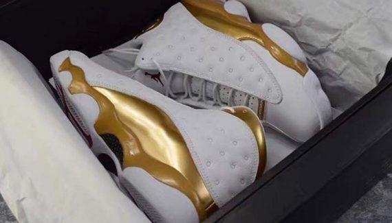Les Air Jordan 13 et 14 s'habillent d'or -  Les chaussures labellisées «Defining Moment Pack» par Jordan Brand célèbrent les victoires de Michael Jordan. Au moins de juin, ce sont les Air Jordan 13 et 14, celles du dernier… Lire la suite»  http://www.basketusa.com/wp-content/uploads/2017/03/air-jordan-13-dmp-detailed-images-03-570x325.jpg - Par http://www.78682homes.com/les-air-jordan-13-et-14-shabillent-dor h