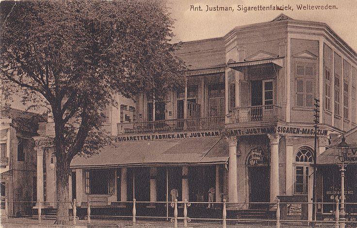 Tempo Doeloe #89 - Batavia, Pabrik Rokok Ant. Justman, 1909