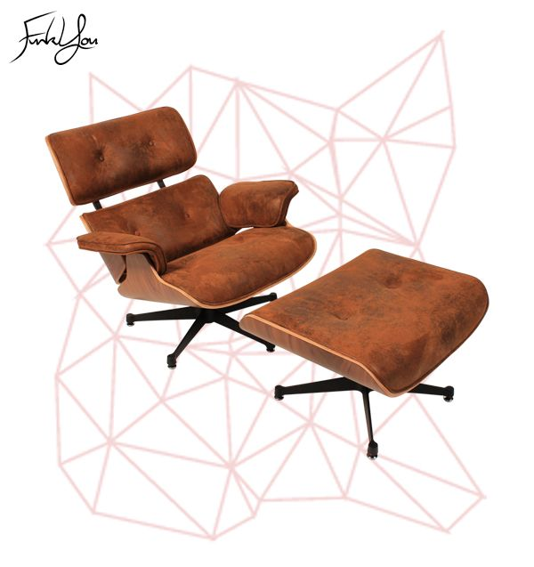 Herman Lounge Chair Brown. www.funkyou.com.au