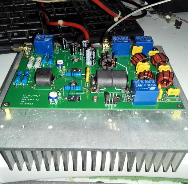 DIY KITS High Frequency 100W linear power amplifier for transceiver