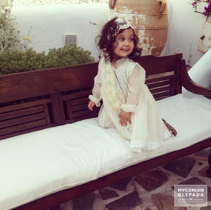 | Vintage Shabby Chic | Greek Baby Christening Baptism | Η βάπτιση της γλυκιάς Μαριτίνας |