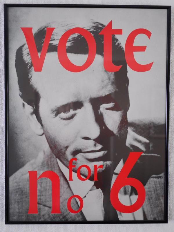 #Vote for Number 6 from The Prisoner - with the ...