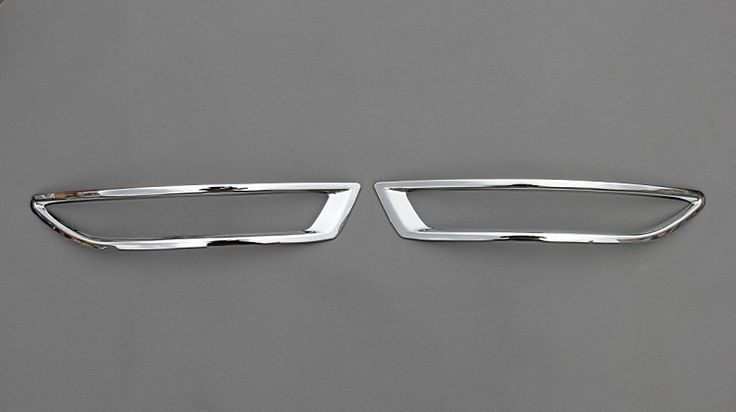 ==> [Free Shipping] Buy Best Car-covers ABS Chrome Rear Fog light Lamp Cover Trim 2PCS fit For 2012-2013 Volkswagen Jetta/Sagitar Car styling Online with LOWEST Price | 32799173181