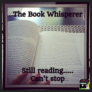 I picked The Book Whisperer up last night to see what it was all about.  I literally can not put it down.  It is a MUST READ for all teachers who teach language arts (no matter the grade)  Blog post with reflections on book.