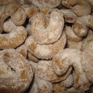Rollitos de vainilla (galletas)