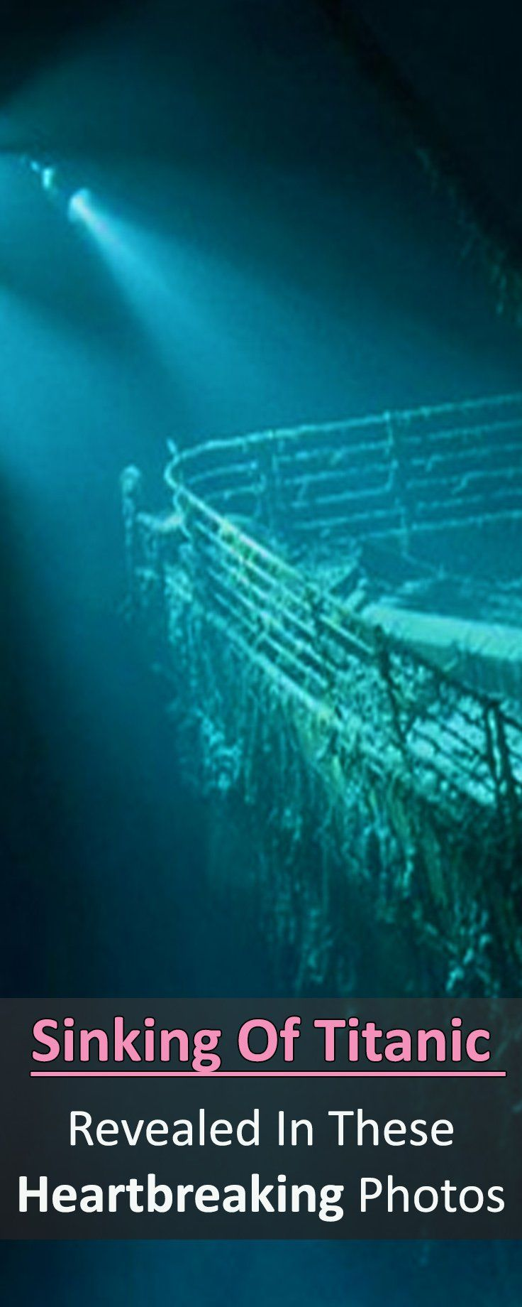 You have probably memorized every detail about the Titanic movie. But check out these facts you didn't know existed that weren't shown in the big screen.