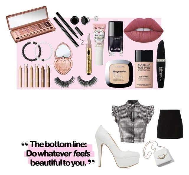 """""""Cuticool"""" by harmzilly on Polyvore featuring Marissa Webb, Givenchy, Qupid, Urban Decay, Max Factor, MAKE UP FOR EVER, L'Oréal Paris, Too Faced Cosmetics, Lime Crime and Chanel"""