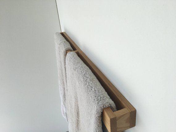 Badkamer Handdoek Houder Wc Rolhouder Eiken Badkamer