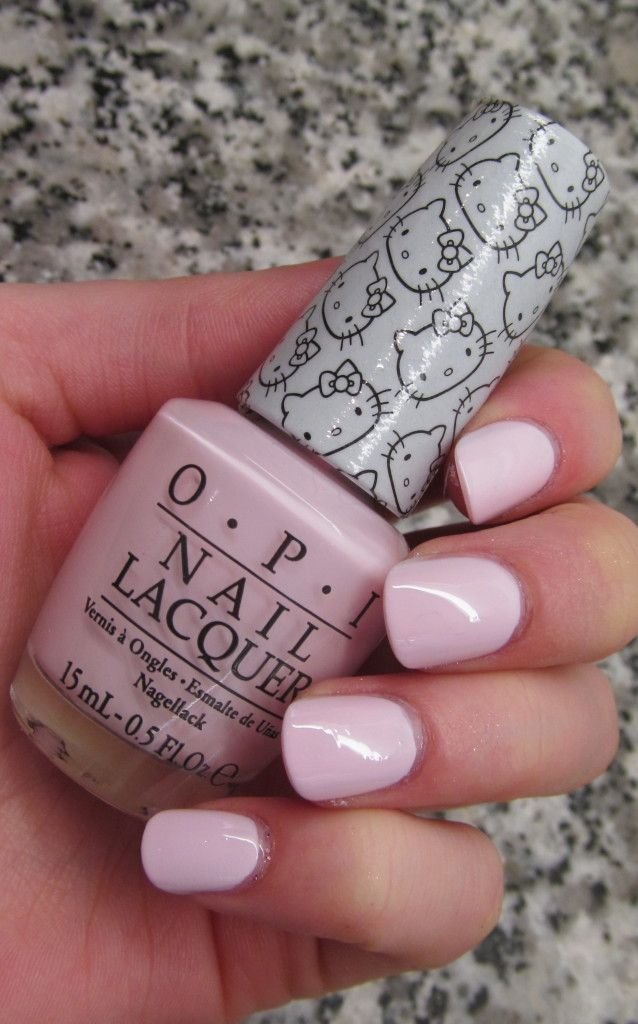 OPI Hello Kitty Collection - Let's Be Friends  Click through for more #nailpolish swatches!