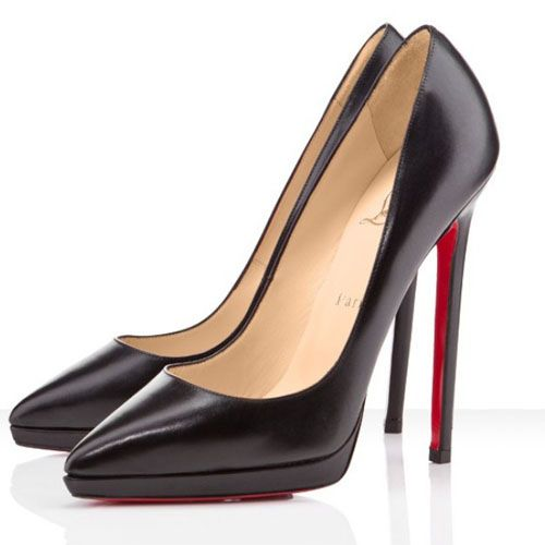 Christian Louboutin Pigalle Plato 140mm Pumps Black