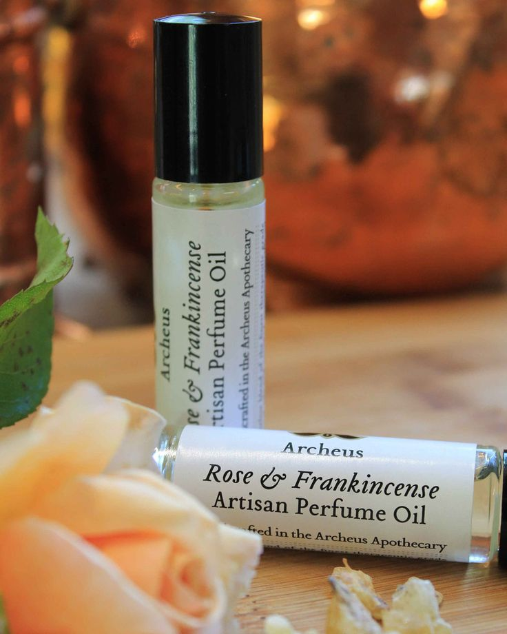 Artisan Perfume Oil - Rose
