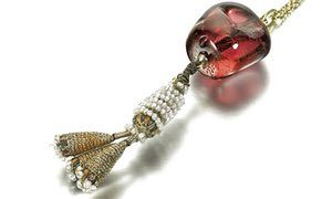 The spinel has been inscribed with the names of three members of an Indian royal family.