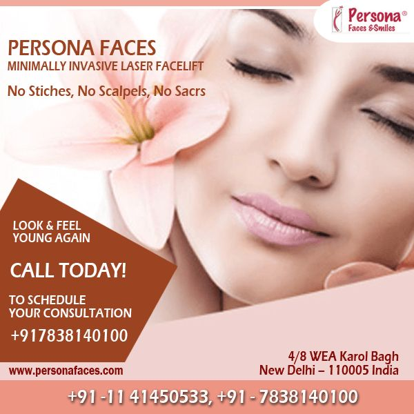Look younger in less than an hour with LazerLift, The Breakthrough Laser #Facelift Procedure that Provides Amazing Results with No Scars & Minimal Downtime! Call@ +917838140100 to book your appointment