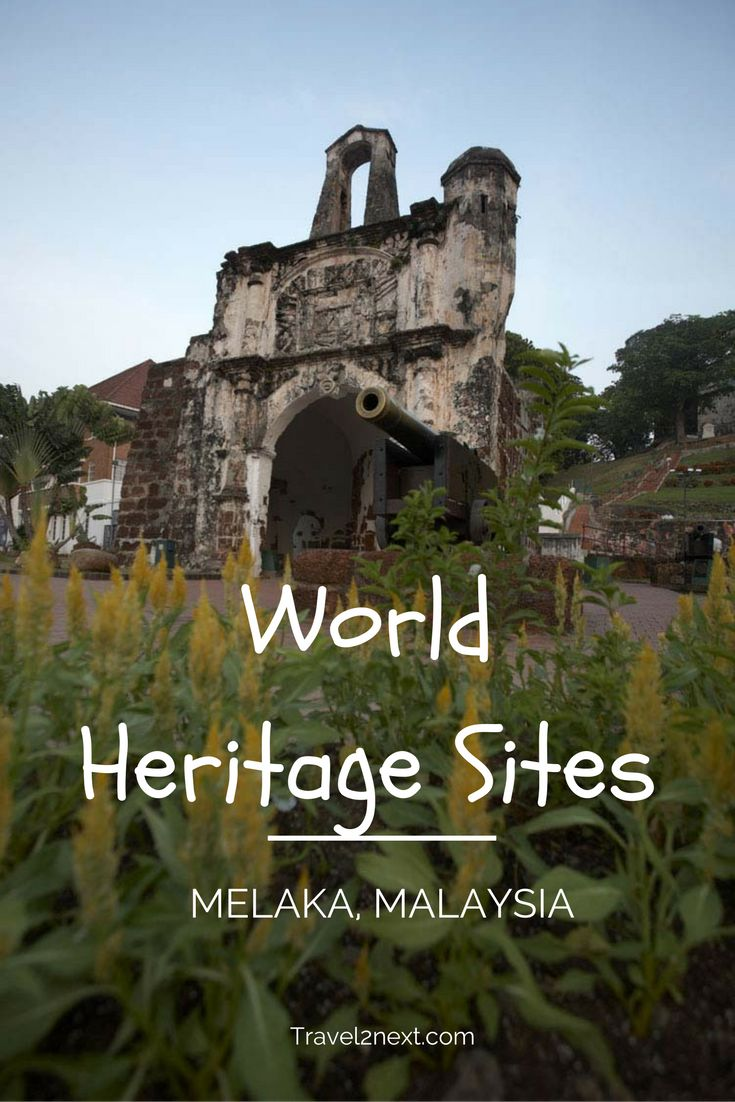 World Heritage Sites – Malacca City. Of all Malaysia's World Heritage sites, Malacca (now Melaka) is a fascinating melange of culture and history.