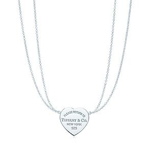 I want this soooooooo bad! Return to Tiffany™ heart pendant in sterling silver, small.