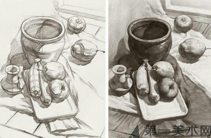 Academic drawing Academic still life