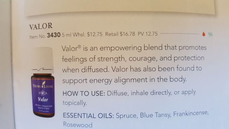 1000 Ideas About Valor Essential Oil On Pinterest Young