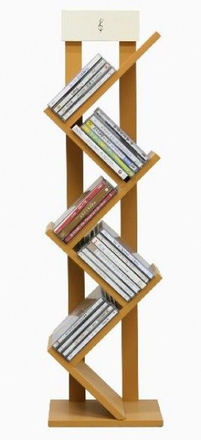 Minimalist bookshelves. This is adorable.. It would be awesome for a magazine rack in the bathroom, or a spare bedroom bookshelf.
