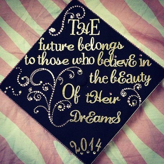 66 best grad cap ideas images on pinterest graduation cap 41 ways to customize your graduation cap publicscrutiny Choice Image