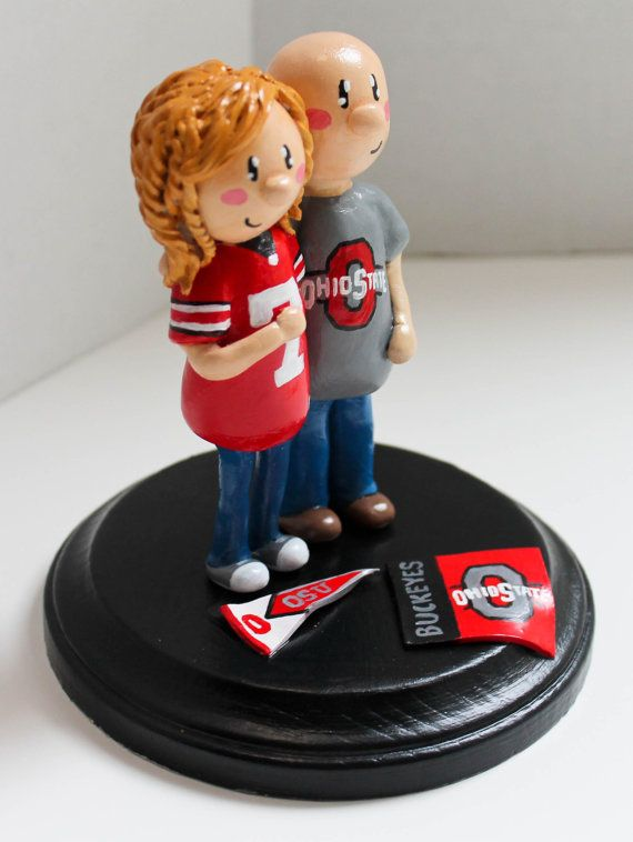 ohio state michigan wedding cake toppers 39 best osu cakes images on ohio state cake 17977