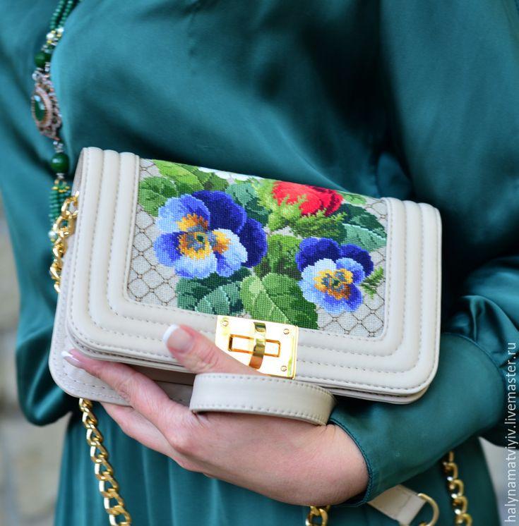 """Купить Сумка """"Шанель"""" - разноцветный, клатч, шанель, коко шанель, сумочка ручной работы"""