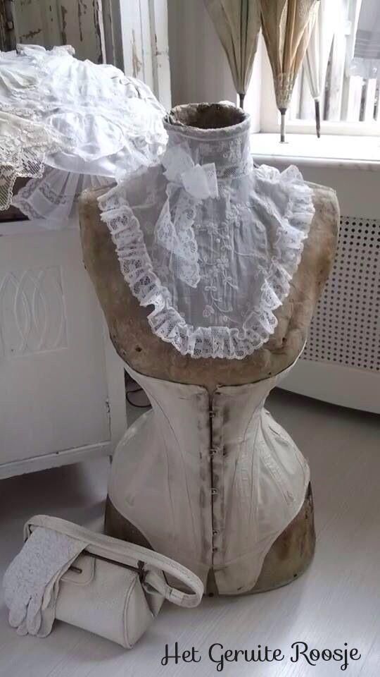 Brocante, déco vintage brocante campagne, mannequin de couturière