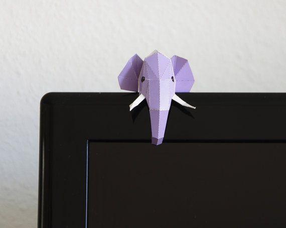 Cartolina Elefante Mini per l'edificabile. Arco di PaperwolfsShop