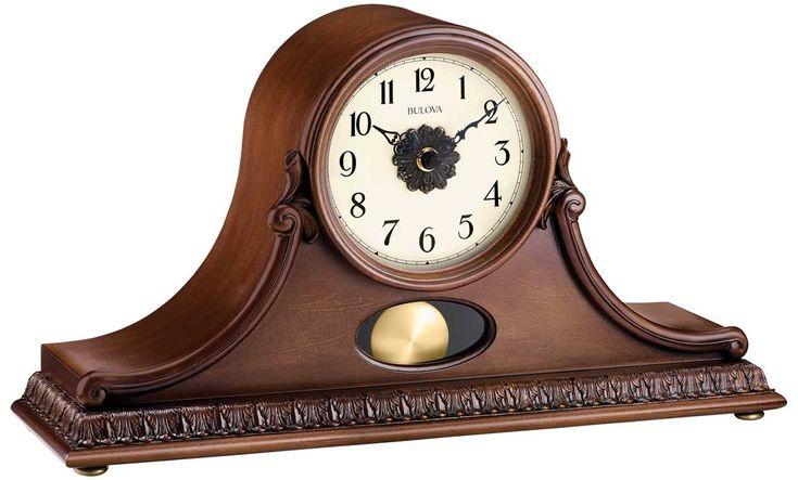 Hyde Park Mantel Clock by Bulova